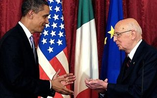 Giorgio Napolitano in visita negli USA. Domani vede Obama