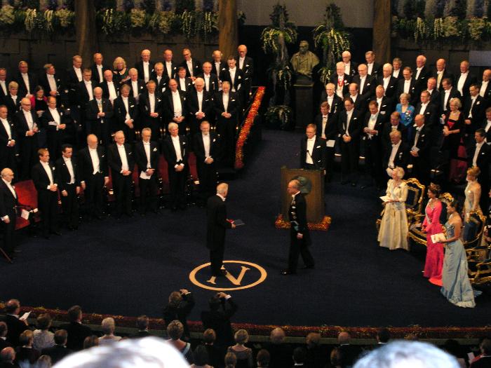 Assegnazione del premio Nobel