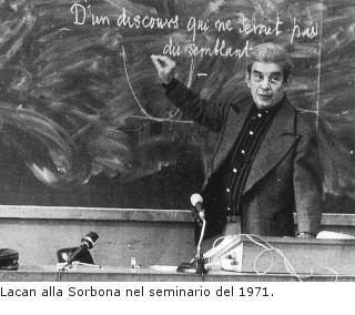 Lacan alla Sorbona nel seminario del 1971
