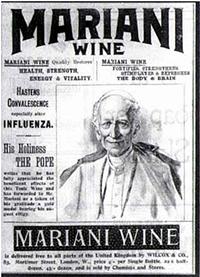 Mariani sfruttò molto Leone XIII come testimonial