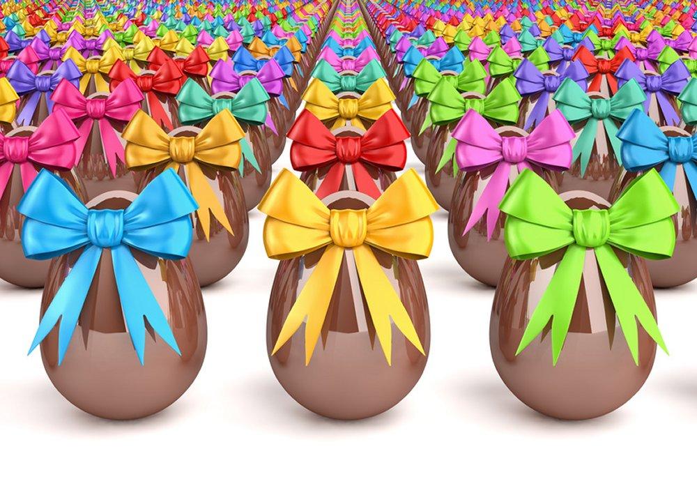 Pasqua uova di cioccolata che passione giro d affari da for Costo medio dell aggiunta della suite